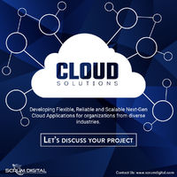 Take advantage of Cloud Solution to develop Flexible, Reliable, and Agile applications. Get in touch with us, to transform your legacy app into a cloud-based application today!  Visit us:- http://scrumdigital.com/ #scrumdigital #CloudComputing #cloudso...