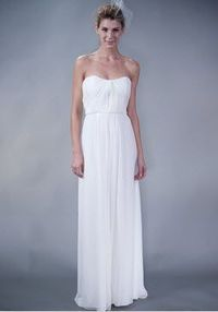 Chiffon wedding gown from 57Grand on REVEL today!