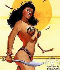 Bettie Page...