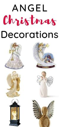 15 Divine Angel Christmas Decorations for indoor and outdoor.