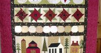 .Quiltscapes.: Thinking Christmas... Blog Hop & Giveaway pattern: Snowman on Parade