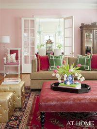 The Pink Pagoda: The Home of Interior Designer Andrea Brooks