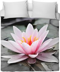 Pink Aquatic Duvet Cover $120.00