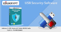 Secure your important videos by using USB security software which is first developed in India by Edukrypt. In USB security software, you can create encryption, login ID and passwords for to reach videos to the right candidate. Know more details Call: +91-...