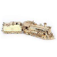 Wooden Toy Train Model, 3D Puzzles, Wooden Assembly Kit $43.70
