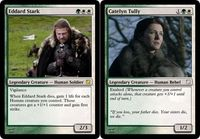 House Stark Starter Deck | Why Isn't �€œMagic The Gathering: Game Of Thrones Edition�€ A Real Thing?