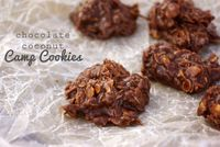 Chocolate Coconut Camp Cookies - recipe by