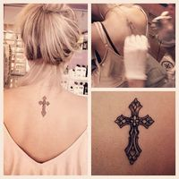 Another tattoo someday? / cross tattoo..
