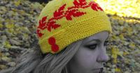 Maple Syrup Cloche / Hat Knitting Pattern by The Spirit Of The West Designs