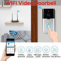 Smart Doorbell WiFi Wireless 1080P HD Video Camera 128G Two Way Talk Door Bell