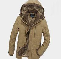 Winter Warm Elegant Windbreaker Parka Detachable Hood Fleece Fur Men Jacket,NEW,on Sale! More Info:https://cheapsalemarket.com/product/winter-warm-elegant-windbreaker-parka-detachable-hood-fleece-fur-men-jacket/
