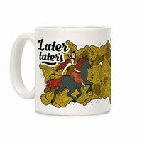 �œ� Handcrafted in USA! �œ� Support American Craftsmen. Later Taters Ceramic Coffee Mug $14.99