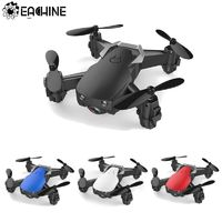 Eachine E61/E61hw Mini Drone With/Without HD Camera High Hold Mode RC Quadcopter RTF WiFi FPV Foldable RC Drone $51.02
