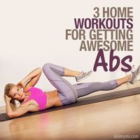 Guided ab routines to help you get awesome abs.