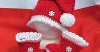 Babys First Christmas #crochet things-i-love