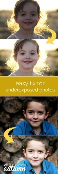 Learn how to easily fix and save dark or underexposed photos with this step by step tutorial using the histogram. Simple photo editing.