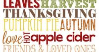 Free Thanksgiving Subway Art - Our Knight Life (Free Printable) #printable #free #thanksgiv