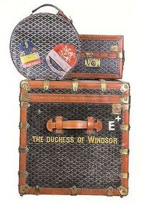 The Duchess of Windsor luggage