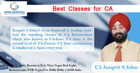 Gyan Gurucull providing Best Classes for CA Course Examination in New Delhi. Jassprit S Johar who is the faculty member for this coaching institute and have a vast experience in teaching field. Our Institute is very popular for all levels of CA Examinatio...