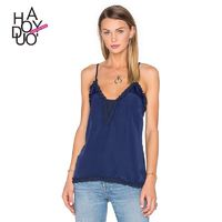 Vogue Sexy Open Back Summer Sleeveless Top Strappy Top Basics - Bonny YZOZO Boutique Store