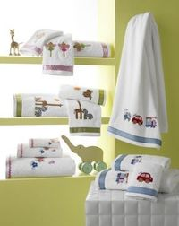 Egyptian cotton baby bath towels