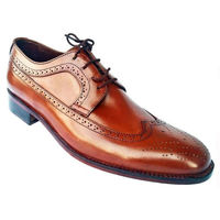 Johny Weber Handmade Oxford Brook Brown Shoes
