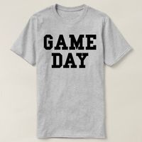 Game Day Shirt, Game Day T-shirt, Game Day Tee, Football Shirt, Football Mom Shirt, Game Day Clothing, Women Football Tops, Game Day T-Shirt $16.50