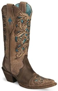 Corral Boots in turquoise - I want them!!!