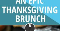 The first time you won't be basic for eating brunch.