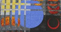 jbe200quilts: Eclipse ©2006 by Sherry Winkleman, Winchester 39x39 Witnessing the total annular eclipse in Spain last October inspired me to make this quilt. The concepts in Ricky Tims' �€œConvergence Quilts�€ were the starting poin...