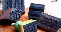 DIY: Rubber Bike Tire Stamps