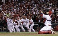 Yadi after the win!