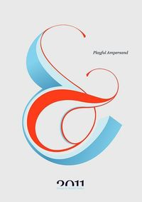 Playful Ampersand - Experimental Typography project by Moshik Nadav Typography   Flickr - Photo Sharing!
