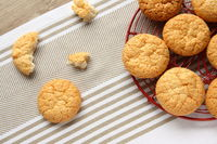 Eggless Coconut and Cashew Cookies
