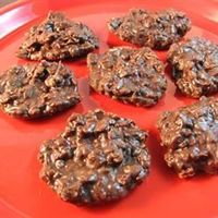 All-Natural No-Bake Cookies Allrecipes.com // Made these tonight to hopefully satisfy my sweet craving! :)