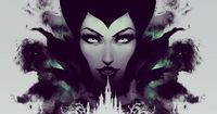 Maleficent Disney Sleeping Beauty Rorschach style by jefflangevin, $30.00 #maleficent #disney #sleepingbeauty