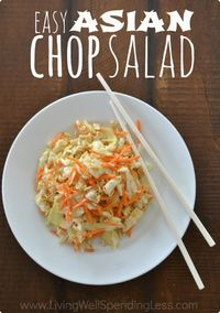 Use sweet carrots and cabbage from your garden to make a crunchy, delicious summer salad. Blogger Ruth Soukup has the recipe. ||