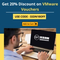 VMware Certification VCP-NV 2021 Exam Voucher  Are you looking for VMware VCP-NV 2021 Exam Voucher, SSDN Technologies provides you the best discounted voucher to use. Use Code SSDN10OFF to avail this offer. SSDN Technologies also offering you a Prep kit...