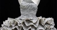 Paper Beauty Dress! Recycle! Recycle! Recycle!