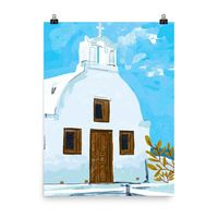When in Greece Poster $30.00