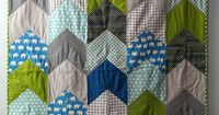 Love the pattern and the quilting... Dillon's Quilt by Sing All You Want, via Flickr