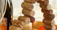 A fun and easy Valentine's Day craft using corks. Sip away and then make this Valentine's Cork Heart!
