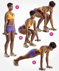 9 New Ways to Tone Up with Dumbbells http://www.womenshealthmag.com/fitness/dumbbell-exercises