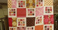 Rubik's Crush quilt - pdf available free (e-book - Quilt Squares for Modern Quilters) at Quilting Daily