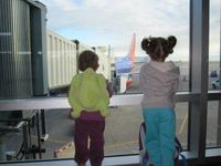 Air Travel Alone with Kids
