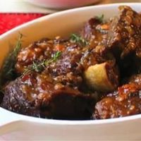 """Sherry Braised Beef Short Ribs 