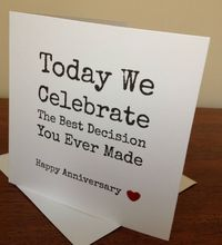 #Handmade wife/husband #anniversary card .... #funny..., View more on the LINK: www.zeppy.io/...