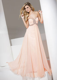 2015 Light Coral Sweetheart Beaded Keyhole Ruched Prom Dress