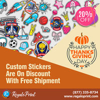 Custom Stickers Are On 20% Discount With Free Shipment - RegaloPrint.jpg