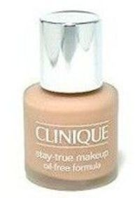 Clinique Stay-True Makeup Oil-Free Formula 30ml Oil-free easy to blend formula that provides a smooth matte finish. Wont clog pores. Excellent coverage in one application. http://www.comparestoreprices.co.uk/make-up/clinique-stay-true-makeup-oil-free-form...